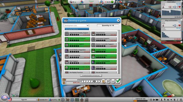 Скриншот №12 к Mad Games Tycoon 2