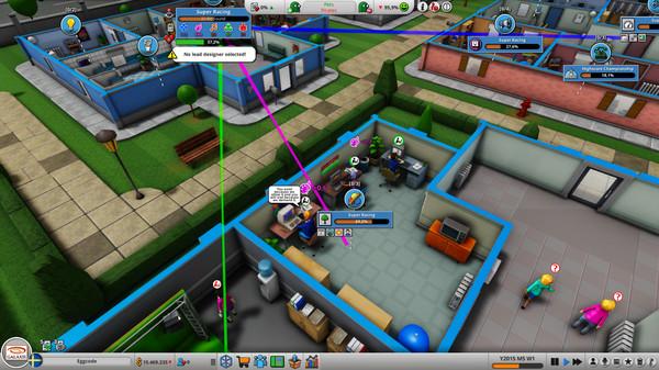 Скриншот №4 к Mad Games Tycoon 2