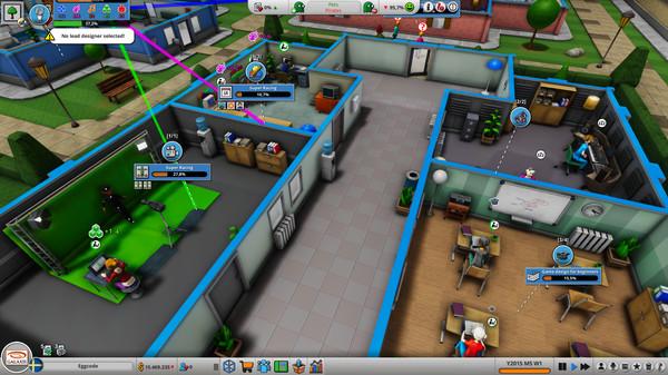 Скриншот №3 к Mad Games Tycoon 2
