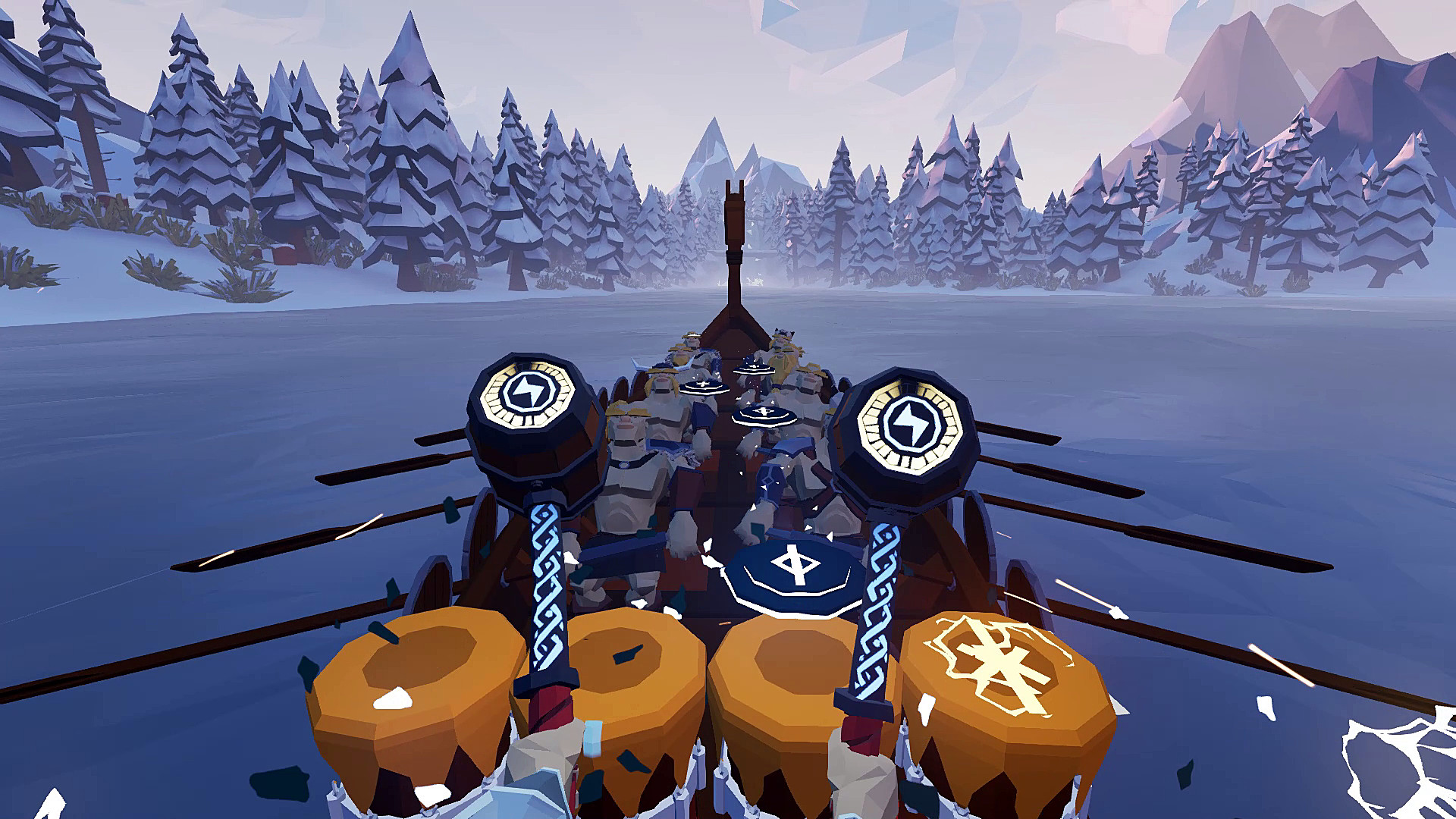 Oculus Quest 游戏《Ragnarock VR》维京时代插图