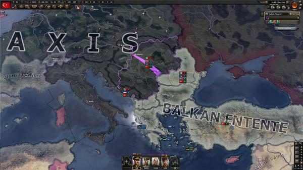 Скриншот №6 к Expansion - Hearts of Iron IV Battle for the Bosporus