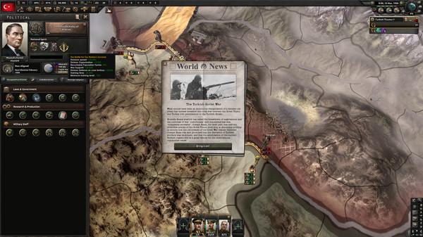 Скриншот №5 к Expansion - Hearts of Iron IV Battle for the Bosporus