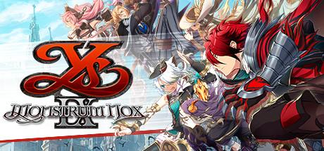 Ys IX: Monstrum Nox Cover Image