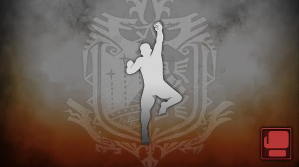 Скриншот №1 к Monster Hunter World - Жест Шорюкен