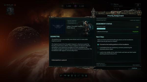 Скриншот №1 к Warhammer 40000 Inquisitor - Martyr - Charybdis Outpost