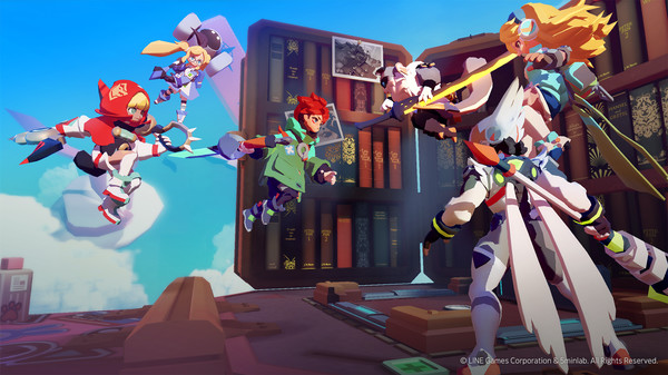 Screenshot of SMASH LEGENDS