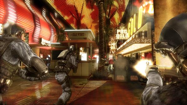 Tom Clancy's Rainbow Six Vegas скриншот