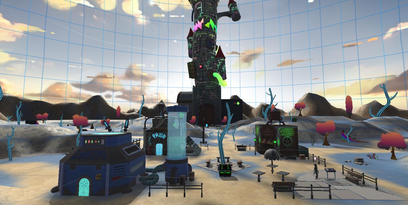 Oculus Quest 游戏《Arcaxer VR RPG游戏》奥术黑客插图