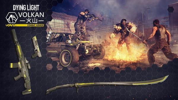 Скриншот №1 к Dying Light - Volkan Combat Armor Bundle