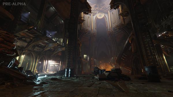 Скриншот №1 к Warhammer 40000 Darktide