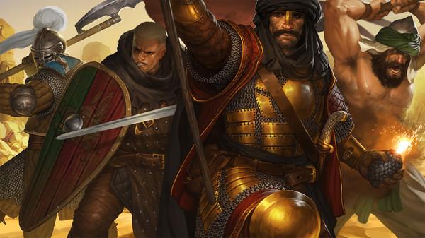 Скриншот №1 к Battle Brothers - Blazing Deserts
