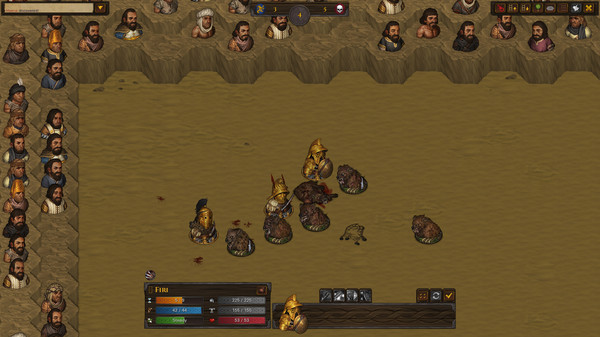 Скриншот №3 к Battle Brothers - Blazing Deserts