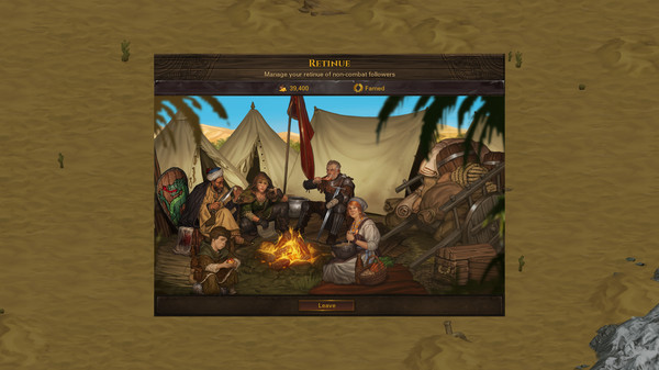 Скриншот №4 к Battle Brothers - Blazing Deserts