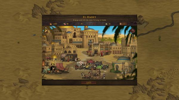 Скриншот №2 к Battle Brothers - Blazing Deserts