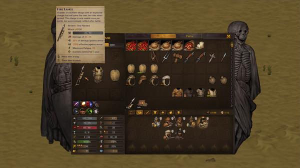 Скриншот №7 к Battle Brothers - Blazing Deserts