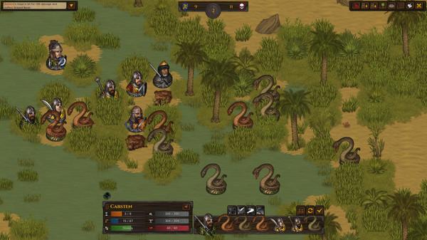 Скриншот №6 к Battle Brothers - Blazing Deserts