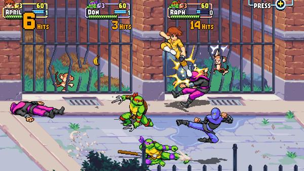 Скриншот №9 к Teenage Mutant Ninja Turtles Shredders Revenge