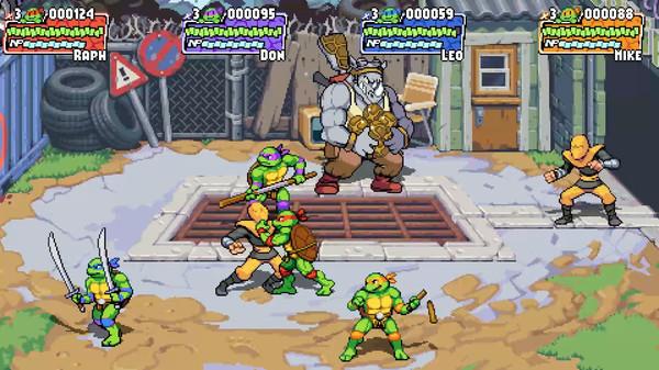 Скриншот №11 к Teenage Mutant Ninja Turtles Shredders Revenge