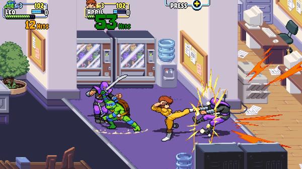 Скриншот №3 к Teenage Mutant Ninja Turtles Shredders Revenge