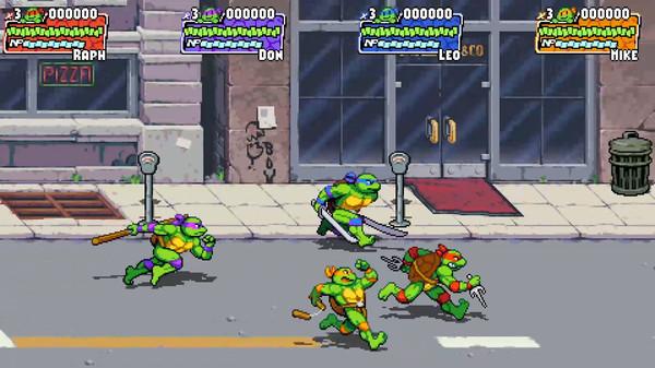 Скриншот №1 к Teenage Mutant Ninja Turtles Shredders Revenge
