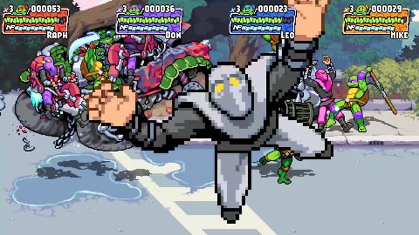 Скриншот №4 к Teenage Mutant Ninja Turtles Shredders Revenge