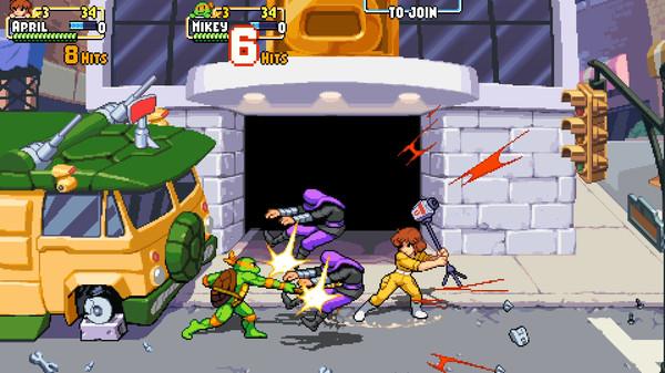 Скриншот №7 к Teenage Mutant Ninja Turtles Shredders Revenge