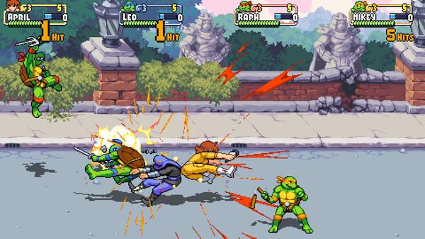 Скриншот №5 к Teenage Mutant Ninja Turtles Shredders Revenge