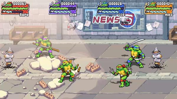 Скриншот №6 к Teenage Mutant Ninja Turtles Shredders Revenge