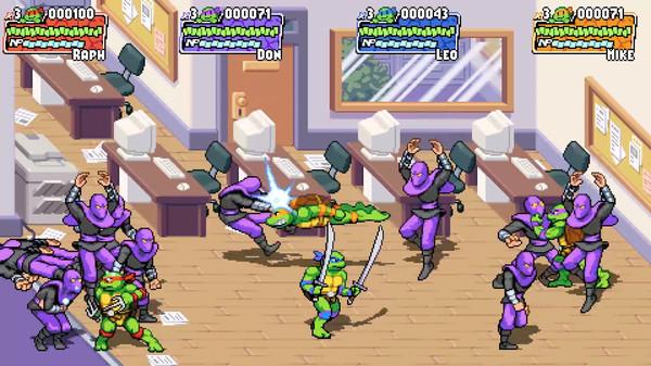 Скриншот №10 к Teenage Mutant Ninja Turtles Shredders Revenge