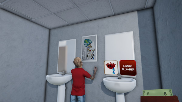 Toilet Management Simulator