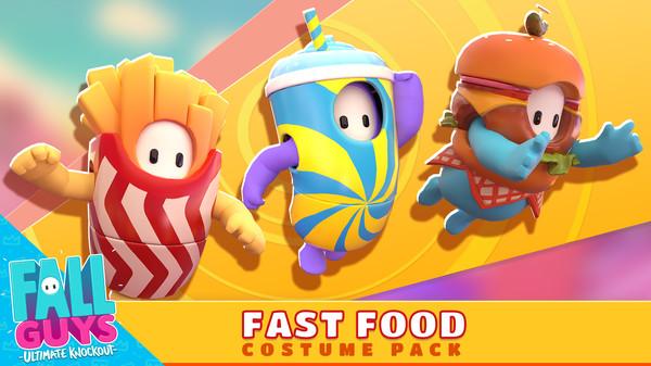 Скриншот №1 к Fall Guys - Fast Food Costume Pack