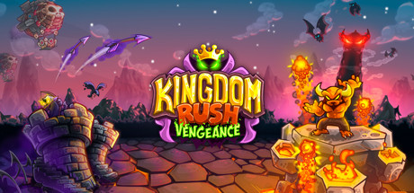 Kingdom Rush Vengeance - Tower Defense Cover Image