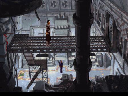 Beneath a Steel Sky скриншот