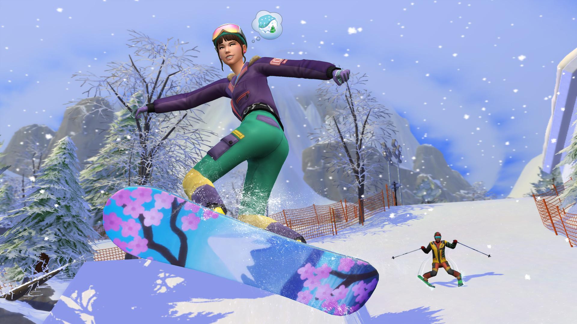 The Sims 4: Snowy Escape DLC License Key