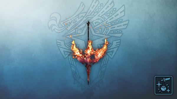 Скриншот №1 к Monster Hunter World Iceborne - Кулон свеча Горящий главенус