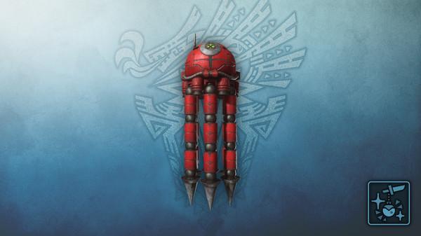Скриншот №1 к Monster Hunter World Iceborne - Кулон супер-8 мини Игрок 2