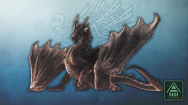 Скриншот №1 к Monster Hunter World Iceborne - Фигурка чудовища MHWI фаталис