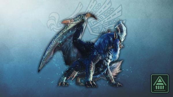 Скриншот №1 к Monster Hunter World Iceborne - Фигурка чудовища MHWI лунастра