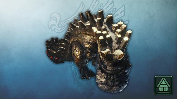 Скриншот №1 к Monster Hunter World Iceborne - Фигурка чудовища MHWI урагаан