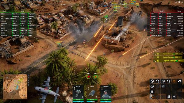 Скриншот №3 к Iron Conflict