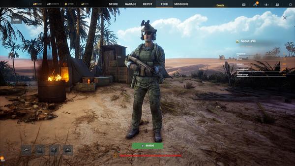Скриншот №9 к Iron Conflict
