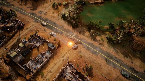 Скриншот №1 к Iron Conflict