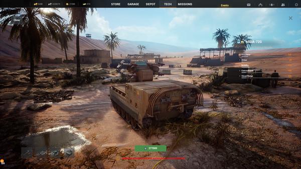 Скриншот №14 к Iron Conflict
