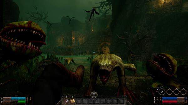 Скриншот №3 к GRAVEN