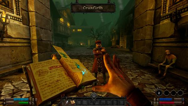 Скриншот №1 к GRAVEN