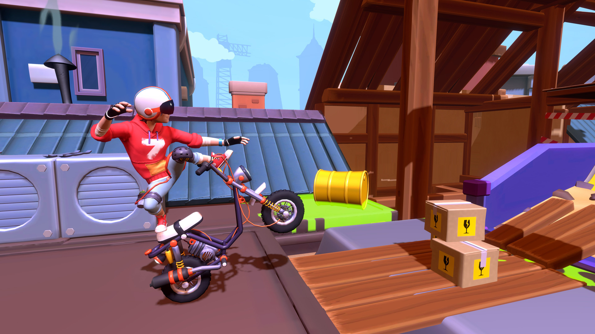 Urban Trial Tricky  Deluxe Edition Free Download