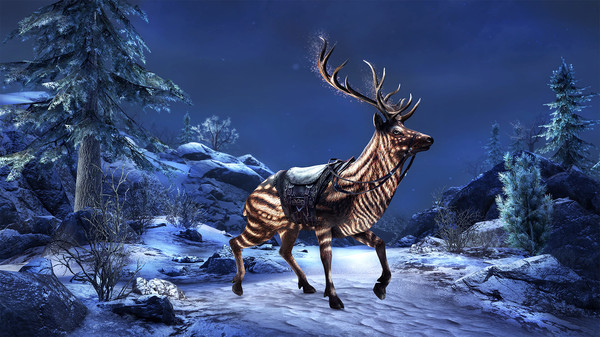 Скриншот №3 к The Elder Scrolls Online Набор с долинным оленем углей
