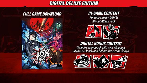 Persona 5 Strikers - Digital Deluxe (Steam)