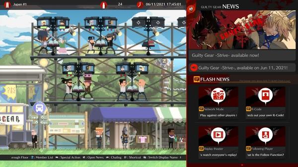 Скриншот №16 к GUILTY GEAR -STRIVE-