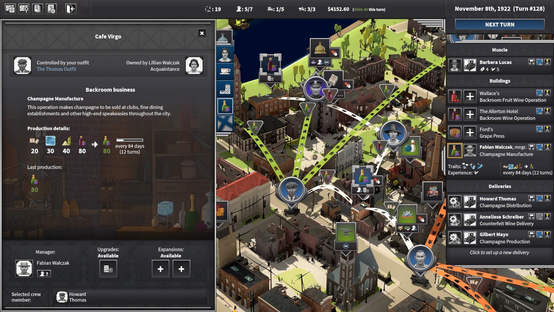 City of Gangsters screenshot 1